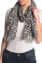Collection XIIX Leopard Print Wrap Scarf