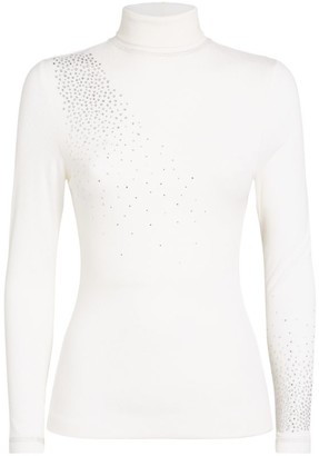 S'No Queen Crystal-Embellished Base Layer Top