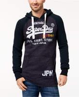 Superdry Men's Shirt Shop Logo Raglan Hoodie