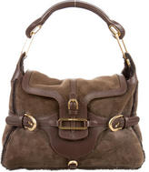 Jimmy Choo Shearling Tulita Bag