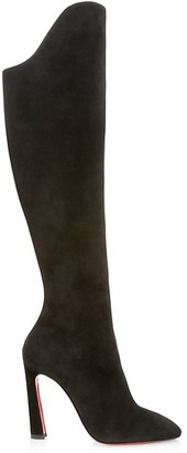 Christian Louboutin Eleonor Tall Suede Boots
