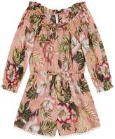 Zimmermann Kali Floral Playsuit