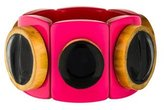 Marni Resin & Wood Stretch Bracelet