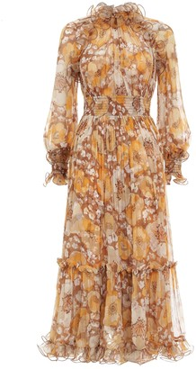 Zimmermann Super Eight Ruffled Midi