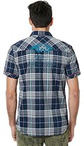 Buffalo David Bitton Men's Siyelp Short Sleeve Plaid Woven Shirt