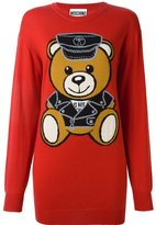 Moschino toy bear jumper - women - Virgin Wool - S