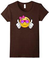 Men's Sunglasses smiling thumbs up emoji clothing gifts for girls Medium