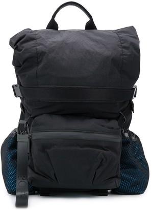 Bottega Veneta cargo pocket backpack