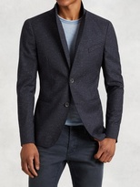 John Varvatos Peak Lapel Soft Jacket