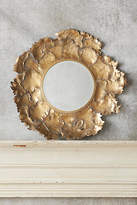 Anthropologie Autumn Leaf Mirror