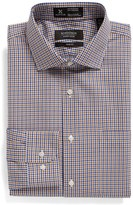 Nordstrom Men's Big & Tall Smartcare(TM) Trim Fit Plaid Dress Shirt