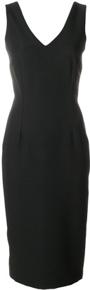 Styland sleeveless fitted pencil dress