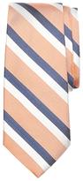 Brooks Brothers Double Herringbone Stripe Silk Tie