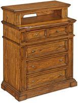 Home Styles Americana Wood Rustic Media Chest