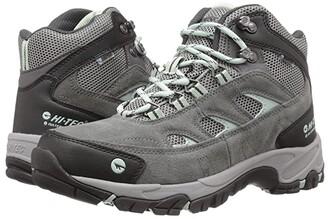 Hi-Tec Logan Mid WP (Charcoal/Cool Grey/Lichen) Women's Work Boots