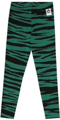 Mini Rodini Tiger-print leggings