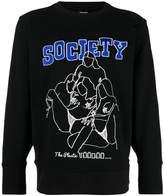 Kokon To Zai embroidered sweatshirt