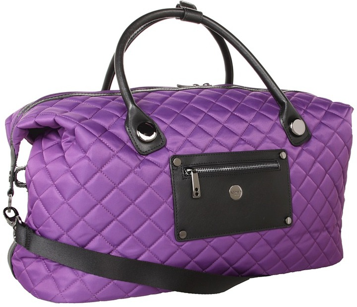 Knomo London - Florence Overnight Duffle Bag (Ultraviolet) - Bags and Luggage
