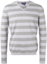 Woolrich striped knitted sweater - men - Cotton - S