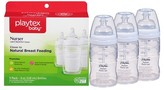 Playtex Baby Nurser With Drop-Ins Liners 4oz 3 Pack Baby Bottle