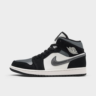 Nike Men's Air Jordan Retro 1 Mid Premium Basketball Shoes