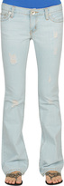Straight Leg Extra Frayed Jean