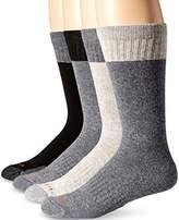 Carhartt Men's Comfort and Durability Crew Sock 4 Pack