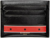Givenchy Black Stars and Stripes Card Holder