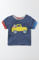 Toddler Boy's Mini Boden Vehicle Applique T-Shirt