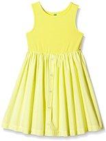 Benetton Girl's 4ABJ5V6P0 Plain Dress