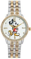 Disney Disney's Mickey Mouse Men's Crystal Watch