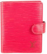 Louis Vuitton Epi Mini Agenda Cover