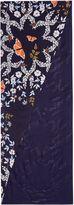 Ted Baker Kati Kyoto Gardens Silk Split Scarf