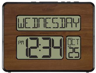 La Crosse Technology Atomic Full Calendar Digital Clock with Extra Large Digits