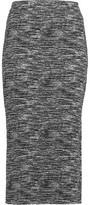 Alice + Olivia Crochet-Knit Midi Skirt