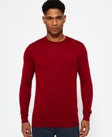 Superdry Call Sheet Merino Crew Neck Sweater