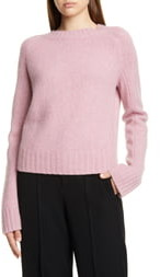 Vince Shrunken Mock Neck Cashmere Sweater