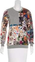 Markus Lupfer Printed Crew Neck Sweatshirt