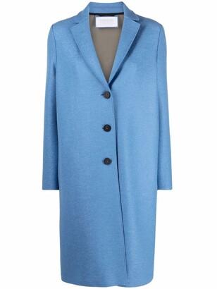 Harris Wharf London Single-Breasted Tailored Coat