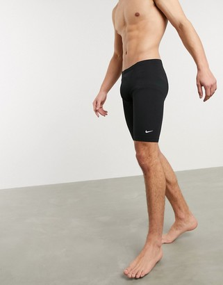 Nike Swimming Jammer with small swoosh in black