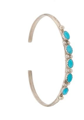 Jessie Western Turquoise Bangle Bracelet