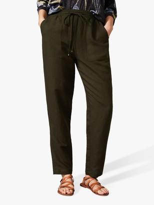 Phase Eight Manda Jogger Trousers, Khaki