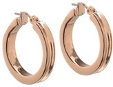 GUESS Small Wide Hoop Earring