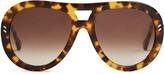 Stella McCartney Aviator acetate sunglasses