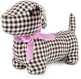 Harry Barker Gingham Hound Plush Dog Toy