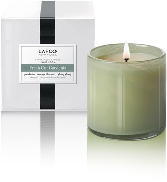 Lafco Inc. Fresh Cut Gardenia Signature Candle Living Room, 15.5 oz./ 440 g