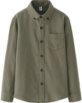 Uniqlo Boys Flannel Long Sleeve Shirt