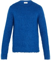 Saint Laurent Crew-neck Wool-blend Sweater