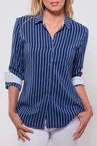 Ecru Sister Stripe Blouse