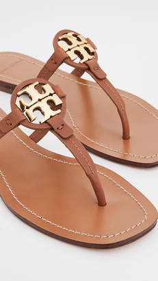 Tory Burch Mini Miller Leather Thong Sandals